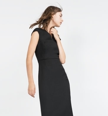 結婚式のお呼ばれに♡シンプルなゲストドレスはZARAで探しましょ♪