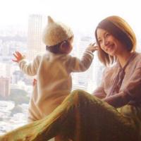 日本時尚藝人為範本♡想要模仿的冬季孕婦裝搭配