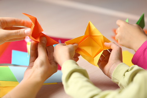 超簡單的摺紙遊戲♪