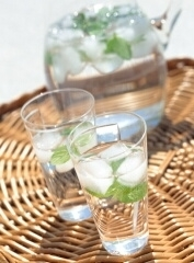從體內開始不免強的變美飲食生活♪④ 關於水份補充及酒精☆