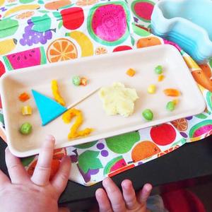 ハーフバースデーを離乳食でお祝い!簡単バースデープレートの作り方