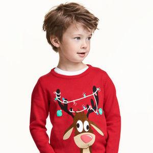 予算は2千円!「H&M」で探す♡クリスマスモチーフKIDS服特集