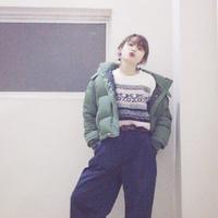 高橋愛さんも夢中♡着膨れしない「ダウン×パンツ」のおしゃれコーデ