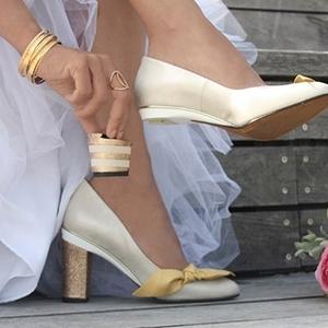 見たことない!?ヒールが外せる「ターニャヒース」の靴♪