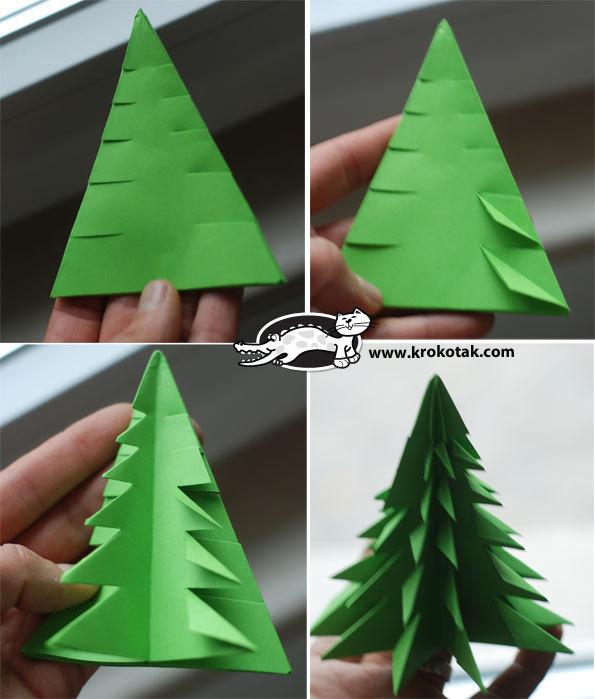 ハート 折り紙 : クリスマスツリー折り紙作り方 : 4yuuu.com
