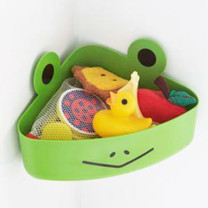 お風呂場に散乱するおもちゃの悩みが解消!子どもが喜ぶ収納グッズ