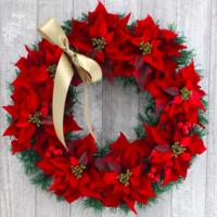 おしゃれなクリスマスリース12選♪冬のインテリアに華を添える
