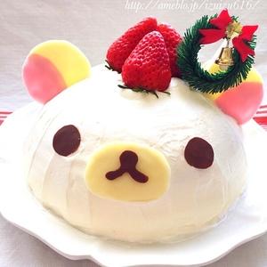 クリスマスには可愛いキャラドームケーキ!基本の作り方とレシピ3選