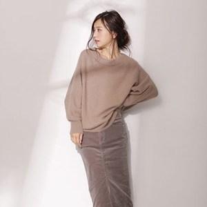 《ゆるアイテム×すっきりデザイン》で美シルエットの着痩せコーデ