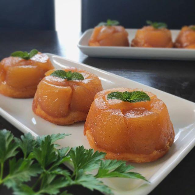 タルトタタンのアレンジレシピ③ミニタルトタタン♡