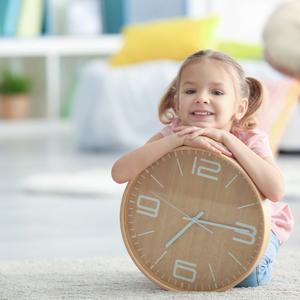 帰宅後の育児がラクになる♡「時計」を使ってイヤイヤを回避!