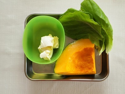 「南瓜奶油起司沙拉」的做法