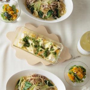 『30分鐘』完成3道菜♪短時間內料理出義大利麵當晚餐的食譜~