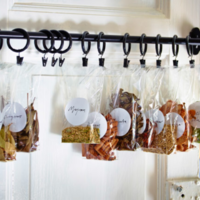 使用平價小物來讓家裡變乾淨整齊吧!「冰箱週遭的6個收納技巧」☆