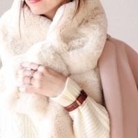 エコファーマフラーを使った冬コーデ14選!温かさと可愛さをGET