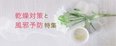 乾燥対策と風邪予防特集
